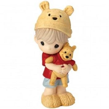 Hunny, There's Nobody Sweeter Than You Disney Winnie The Pooh Figurine, Boy, Porcelain