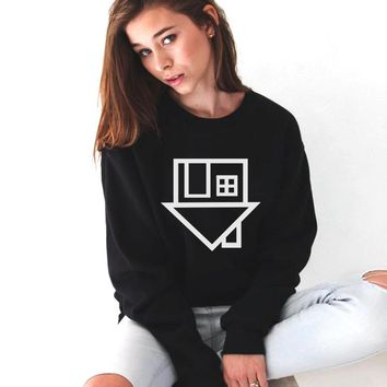 Sweatshirts Tumblr Women The Neighbourhood Letter Print Casual
