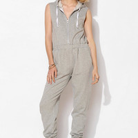BDG French Terry Hooded Jumpsuit - Urban Outfitters