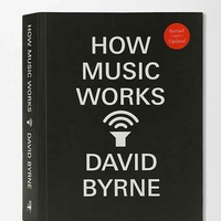 How Music Works By David Byrne- Assorted One