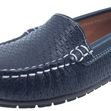 Venettini Boy's Gordy Navy Belt Moc
