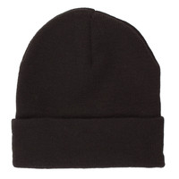 Ark for Women Ark Black Plain Beanie