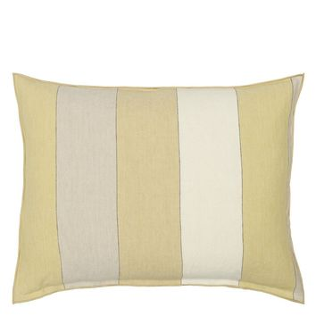 Designers Guild Brera Gessato Hemp Decorative Pillow