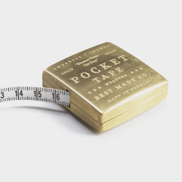 Solid Brass Pocket Tape