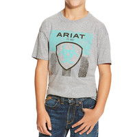 Ariat Boys' Stars and Stripes Tee