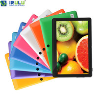 """IRULU eXpro  X1 7"""" Tablet PC 8GB Android Tablet Computer Dual Core Dual Camera External 3G WIFI 2015 Tablet with Keyboard Case"""