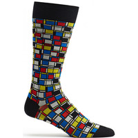 Cubist Composition Sock