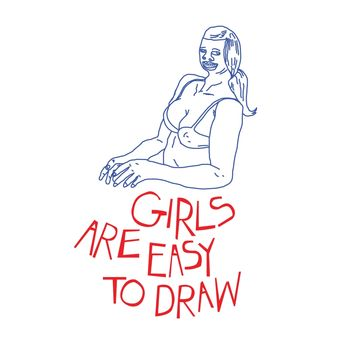 Girls are Easy to Draw