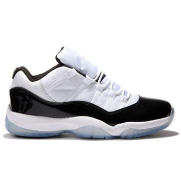 PEAPVX Beauty Ticks 528895-153 Nike Air Jordan 11 Retro Low White black- d720d1086d