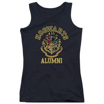 Harry Potter - Hogwarts Alumni Juniors Tank Top Officially Licensed Apparel