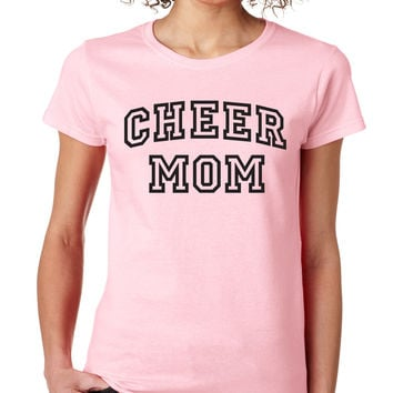 Cheer Mom Crewneck Tee