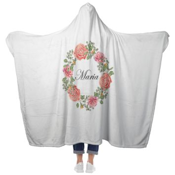 Maria - Hooded Blanket with Mittens