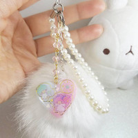Kawaii Dreamy Fluffy Ball Phone Charm