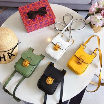 Tory Burch Button cell phone bag