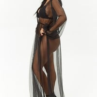 Kikiriki Sheer Maxi Dress