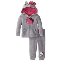 Hello Kitty Heathered Infant Girls Sweatsuit
