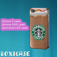 Starbucks Ice Coffee--iphone 4 case,iphone 5 case,ipod touch 4 case,ipod touch 5 case,in plastic,silicone and  black , white.