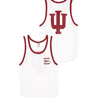 Indiana University Bling Boyfriend Pocket Tank - PINK - Victoria's Secret