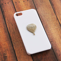 iPhone 5 Case Hot Air Balloon Birthday Gift Ideas Girly iPhone 6 Plus Case iPhone 5c White Girly Galaxy S4 Samsung Case Balloon iPhone 6