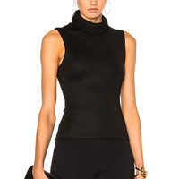 Brandon Maxwell Sleeveless Top in Black | FWRD