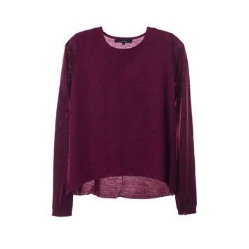 Olivaceous Womens Maroon Top