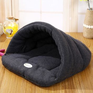 Winter Warm Slippers Style Dog House