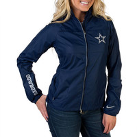 Dallas Cowboys Nike Womens Extra Point Jacket | Outerwear | Other | Womens | Cowboys Catalog | Dallas Cowboys Pro Shop
