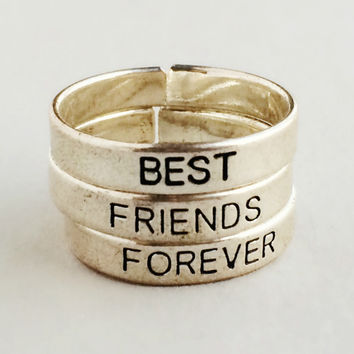 Friends Forever Ring Set