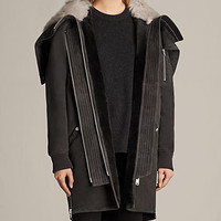 ALLSAINTS US: Womens State Parka (MAGMA GREY)