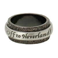 Disney Peter Pan Off To Neverland Spinner Ring