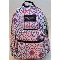 Jansport Half Pint Backpack in Purple Sky for Toddler or Preschool Girl TDH69FD