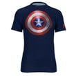 Under Armour Super Hero Logo S/S Compression Top - Men's