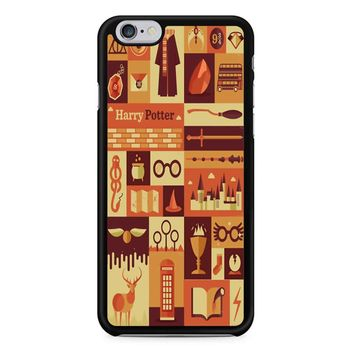 Harry Potter Collage Art iPhone 6/6S Case