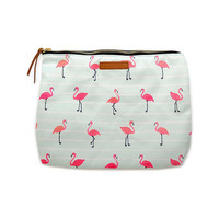 Pura Vida - Flamingos Clutch