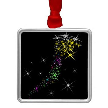 Christmas Star Metal Ornament