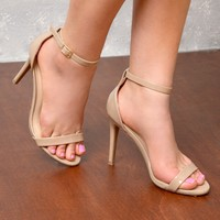 The New Obsession Nude Heels