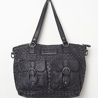 Liebeskind Womens Maven Distressed Tote -