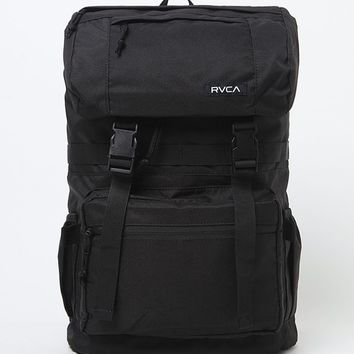 RVCA Hillhurst School Backpack - Mens Backpacks - Black - NOSZ