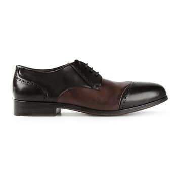 Marsèll panelled lace-up shoes