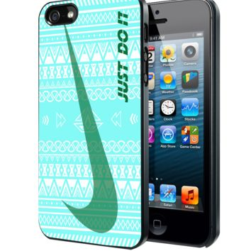 Nike Just Do it aztec pattern Samsung Galaxy S3 S4 S5 Note 3 , iPhone 4 5 5c 6 Plus , iPod 4 5 case, HtC One M7 M8