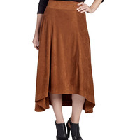 JAG Meredith Skirt in Saddle Brown J4268443