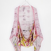 Ted Baker Window Blossom Print Cape