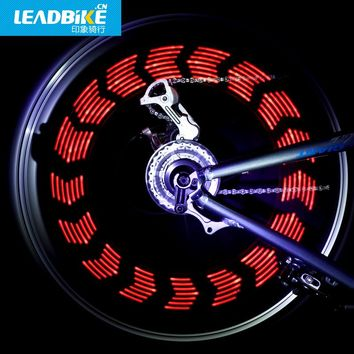 LEADBIKE Super Magic Cool 14 LED Motorcycle Cycling Bike Wheel Light Signal Tire Spoke Light 30 Changes Bicycle Accessories
