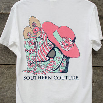 Beach Bag Tee | Southern Couture
