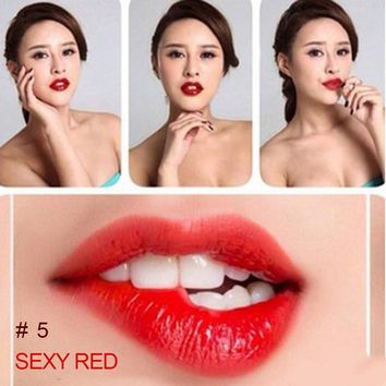 Romantic Magic Beauty Women Girls  Nutritious  Lip Gloss matte waterproof  Color Peel Mask Tint Pack Long Lasting Makeup lips
