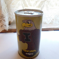 Iowa Hawkeye EMPTY Beer Can
