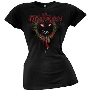 Disturbed - Flourish Face Juniors T-Shirt