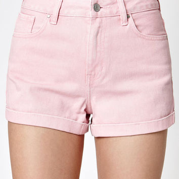 PacSun Hot Stuff Denim Mom Shorts at PacSun.com