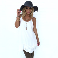 Ribbons & Bows Tunic & Dress In White