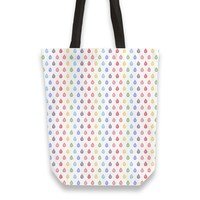 Rainbow droplets pattern Totebag by Savousepate from €25.00   miPic